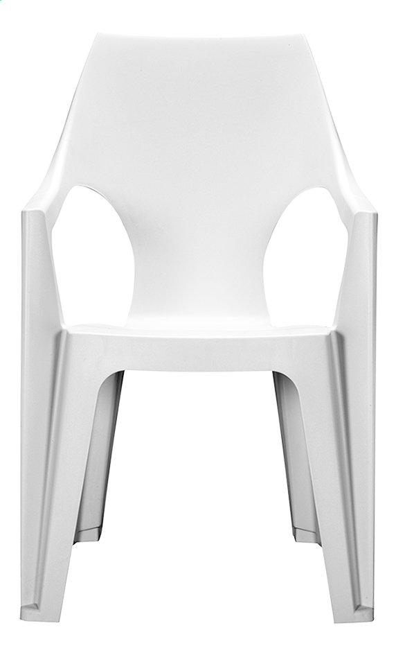 Allibert chaise de jardin Dante haut dossier blanc | ColliShop