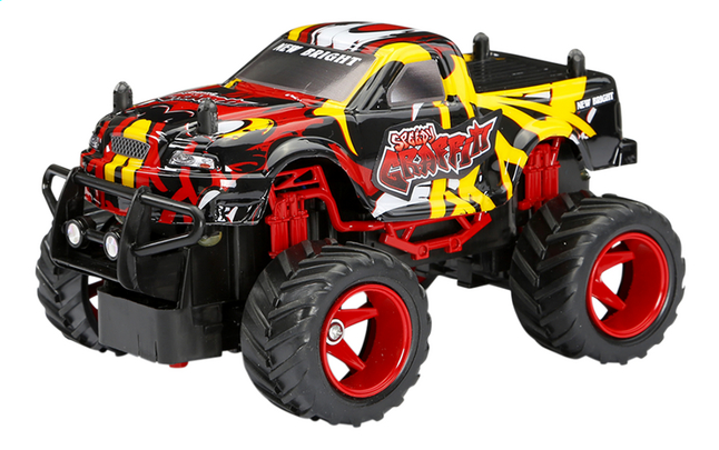 Afbeelding van New Bright auto RC Speedy Graffiti Truck rood/geel from ColliShop
