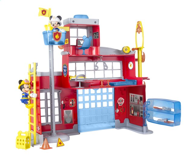 Afbeelding van Speelset Mickey Mouse Clubhouse To the rescue fire station from ColliShop