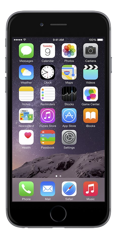 Afbeelding van Apple iPhone 6 Plus 16 GB spacegrijs from ColliShop