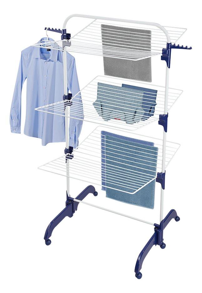 Leifheit Droogtoren Comfort Tower 420 wit/blauw