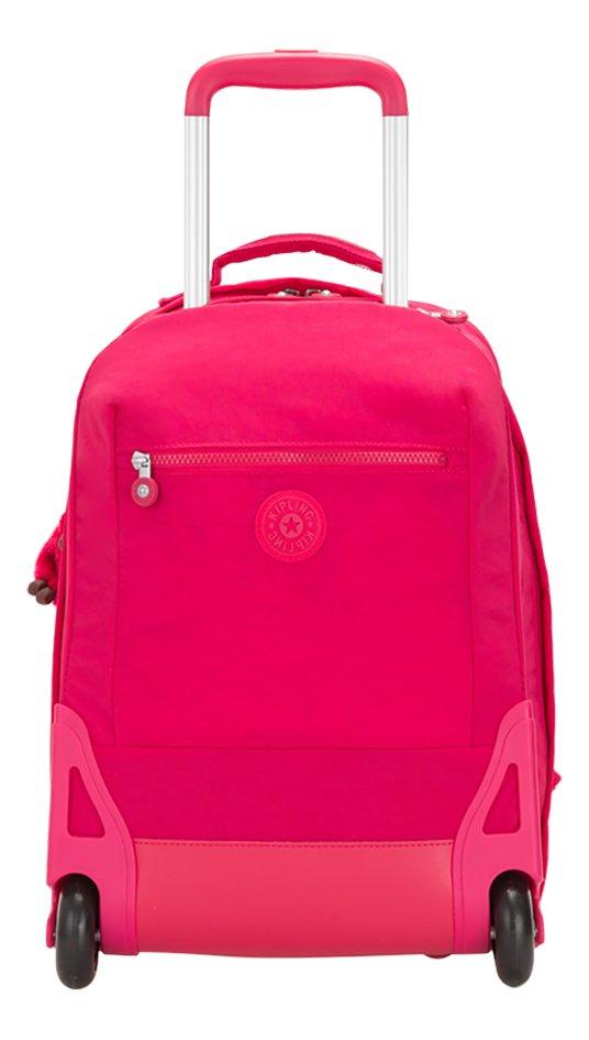 nouvelle arrivee 1d2ce 621aa Kipling sac à dos à roulettes Soobin L True Pink