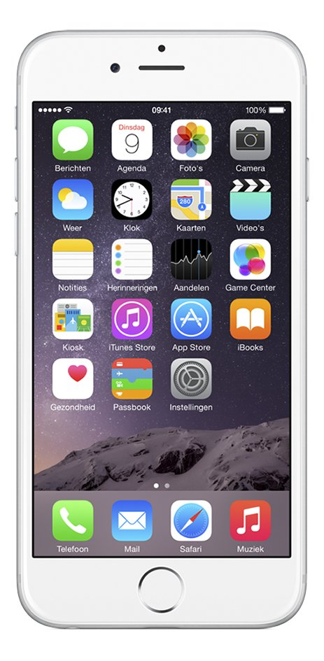 Afbeelding van Apple iPhone 6 Plus 16 GB zilver from ColliShop
