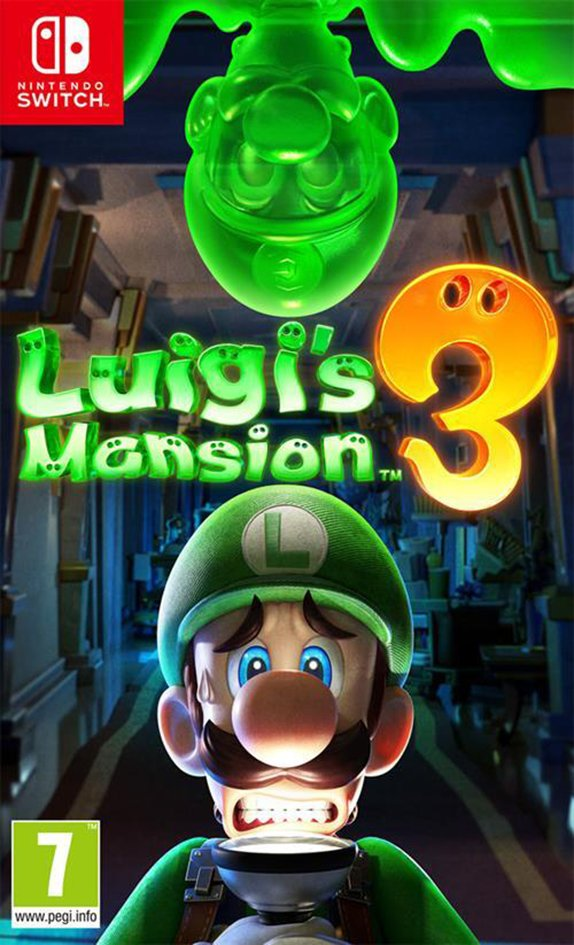 Nintendo Switch Luigi's Mansion 3 FR