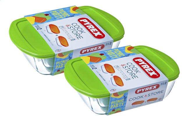 Image pour Pyrex Set de 2 plats à four Cook & Store à partir de ColliShop