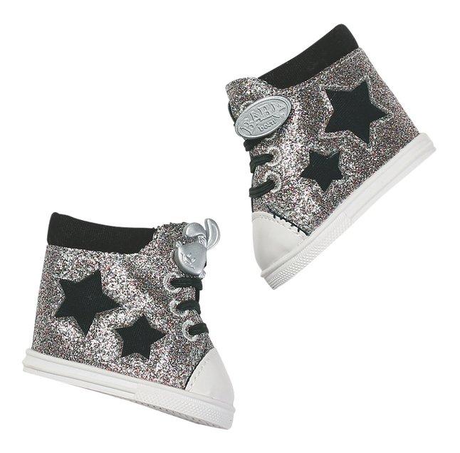 Afbeelding van BABY born Trend sneakers zilver from ColliShop