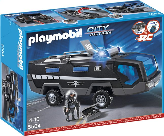 Afbeelding van Playmobil City Action 5564 Interventietruck speciale eenheid from ColliShop