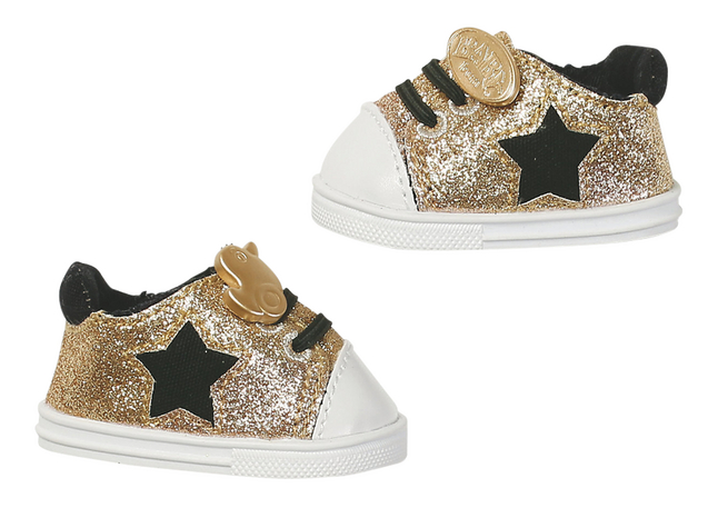 Afbeelding van BABY born Trend sneakers goud from ColliShop