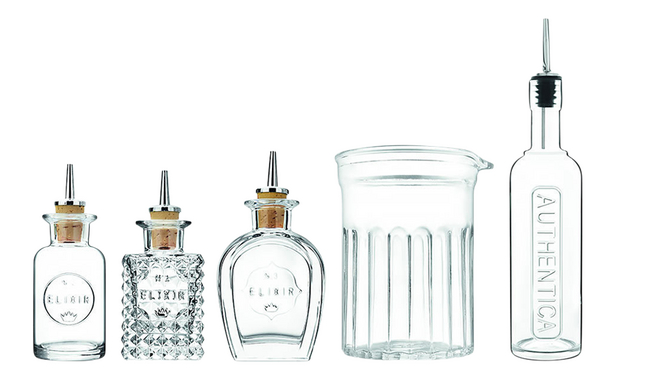 Image pour Luigi Bormioli Set de verre mixeur et bouteilles pour cocktails Mixology à partir de ColliShop
