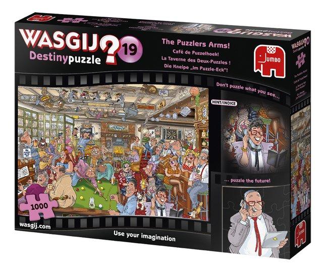 Image pour Jumbo puzzle Wasgij? Mystery puzzle n° 19 La Taverne des Deux-Puzzles ! à partir de ColliShop