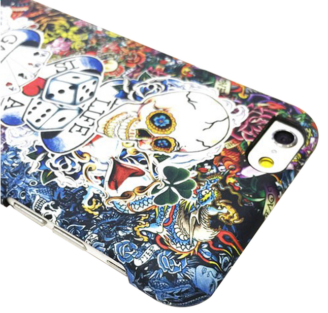 Afbeelding van i-Paint cover Tattoo iPhone 6/6s from ColliShop