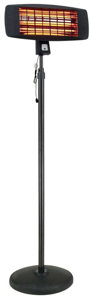 Image pour Chauffage de terrasse électrique sur pied Quartz à partir de ColliShop