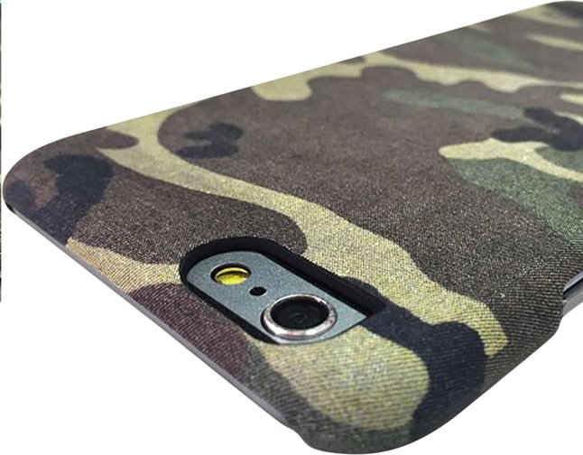 Afbeelding van i-Paint cover Camo iPhone 6/6s from ColliShop