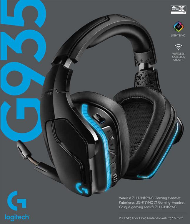 Afbeelding van Logitech headset G935 from ColliShop