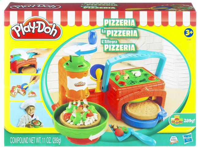 Afbeelding van Play-Doh De Pizzeria from ColliShop