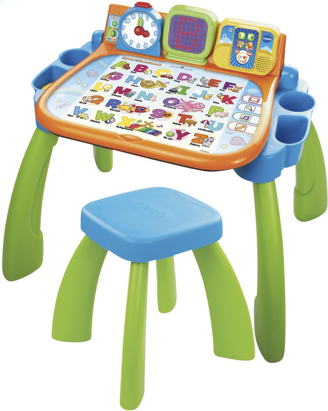 Vtech magi bureau interactif 3 en 1 collishop for Bureau vtech