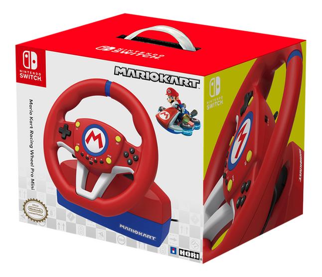 Nintendo Switch stuurwiel met pedalen Hori Mario Kart Racing Wheel Pro Mini