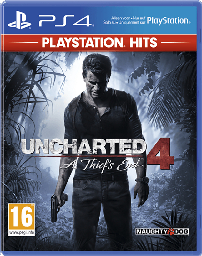 Afbeelding van PS4 Uncharted 4 A Thief's End Playstation Hits ENG/FR from ColliShop