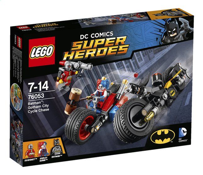 Image pour LEGO Super Heroes 76053 Batman Gotham City Cycle Chase à partir de ColliShop