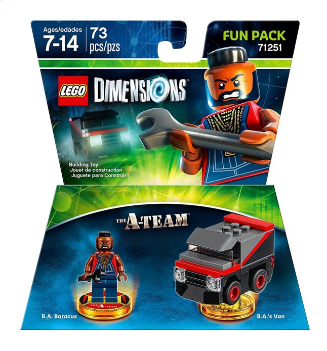 Afbeelding van LEGO Dimensions Fun pack 71251 The A-team ENG/FR from ColliShop
