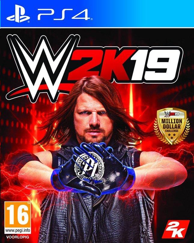 Image pour PS4 WWE 2K19 FR/NL à partir de ColliShop