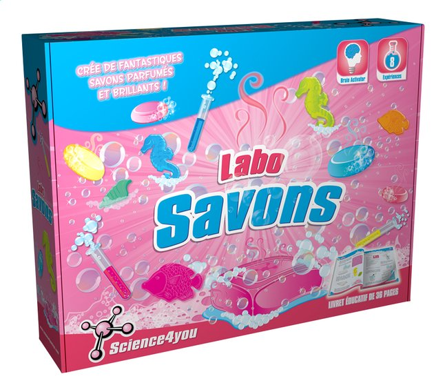 Afbeelding van Science4you Labo Savons FR from ColliShop