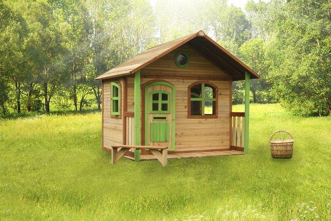 Image pour AXI Maison en bois Milan à partir de ColliShop