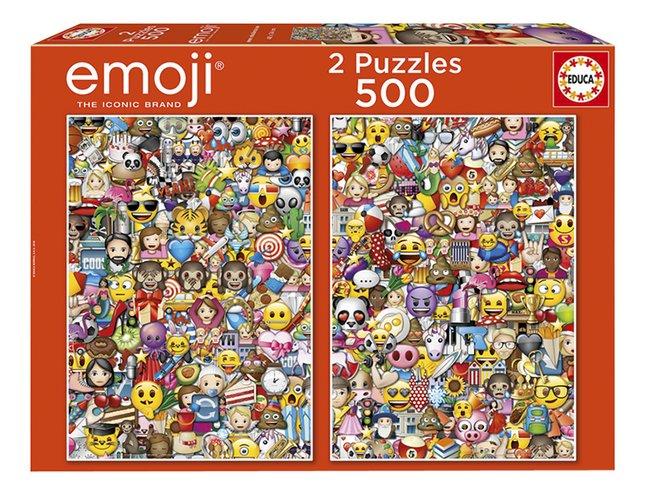 Educa Borras puzzle 2 en 1 Emoji