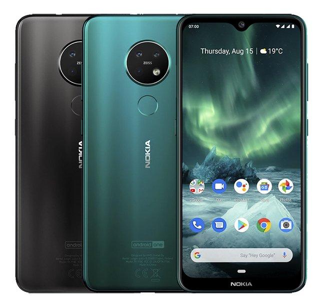 Nokia smartphone 7.2