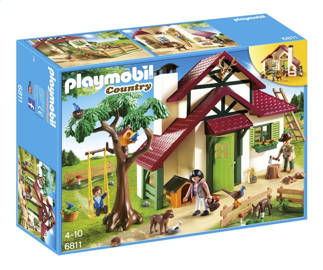 Afbeelding van Playmobil Country 6811 Boswachtershuis from ColliShop