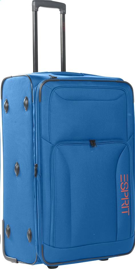 Afbeelding van Esprit Zachte reistrolley Basic Upright blauw from ColliShop