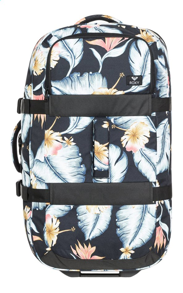 Roxy sac de voyage à roulettes In the Clouds Anthracite Tropical Love 65 cm