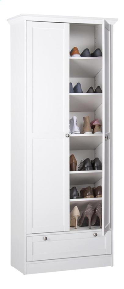 Image pour Finori Armoire à chaussures Landwood 13 - 18 paires de chaussures à partir de ColliShop
