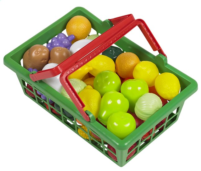 Afbeelding van DreamLand winkelmandje vol groenten en fruit from ColliShop