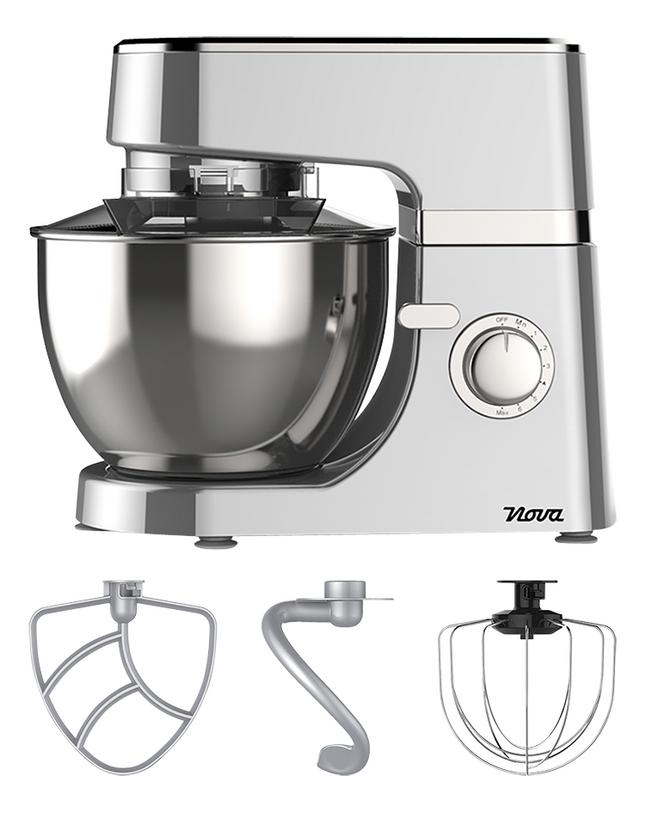 Image pour Nova Robot de cuisine Silver Plus à partir de ColliShop