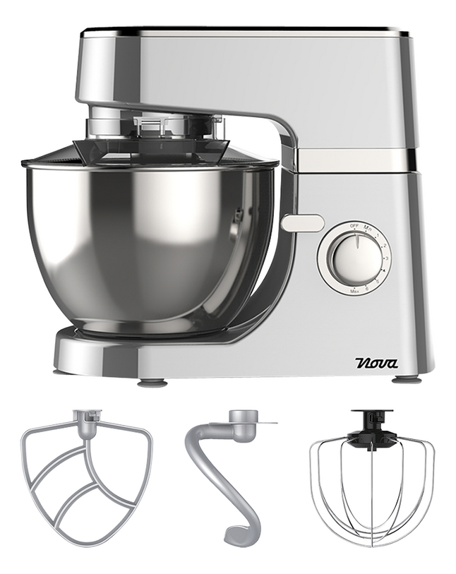 Nova Robot de cuisine Silver Plus