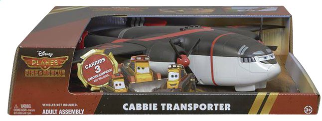 Afbeelding van Vliegtuig Disney Planes 2: Fire & Rescue Cabbie Transporter from ColliShop