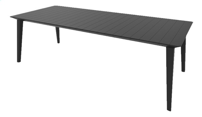 Image pour Allibert Table de jardin Lima gris graphite L 240 x Lg 97 cm à partir de ColliShop
