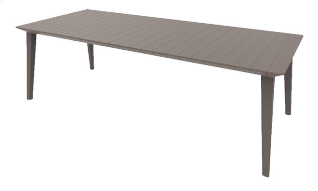 Image pour Allibert Table de jardin Lima cappuccino L 240 x Lg 97 cm à partir de ColliShop