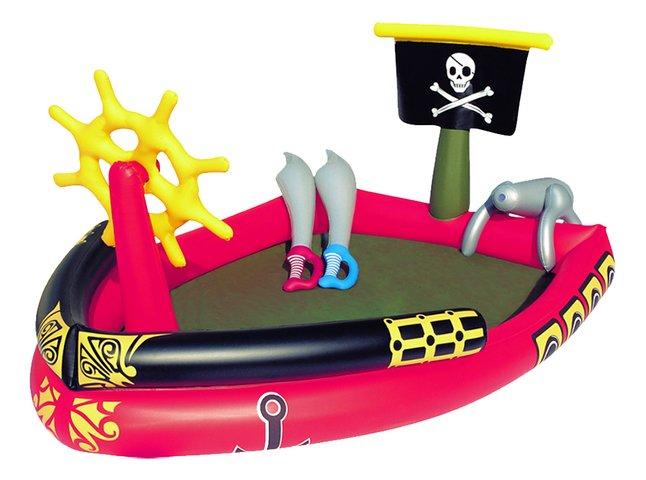 Afbeelding van Bestway opblaasbaar speelcenter Piratenboot met waterkanon from ColliShop