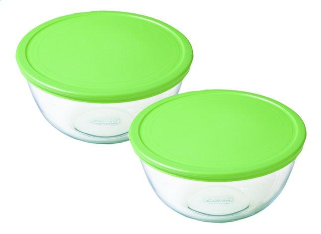 Image pour Pyrex Set de 2 bols mélangeurs Cook & Store à partir de ColliShop