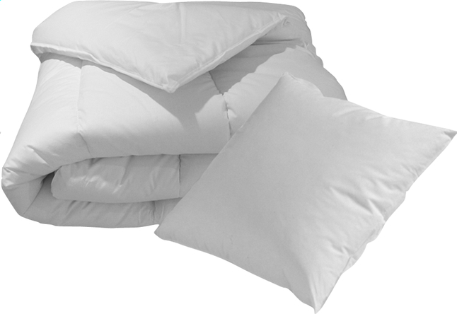 Afbeelding van Sleeping set van hoofdkussen en dekbed 140 x 200 cm from ColliShop