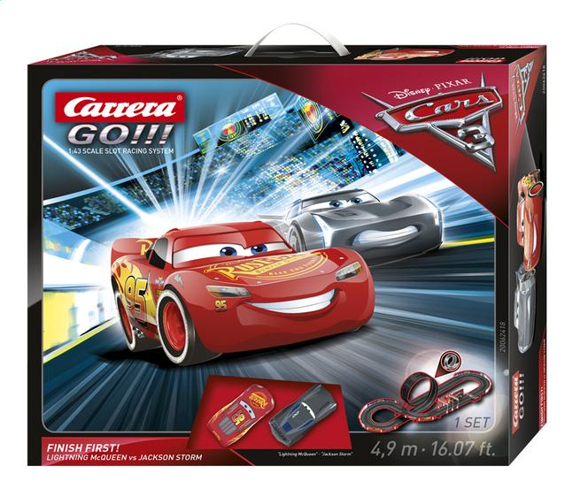 Afbeelding van Carrera Go!!! racebaan Disney Cars 3 Finish First from ColliShop