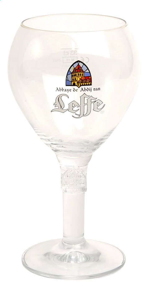 Afbeelding van 6 bierglazen Leffe 33 cl from ColliShop