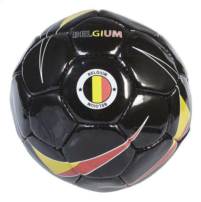 Afbeelding van Voetbal België zwart maat 5 from ColliShop