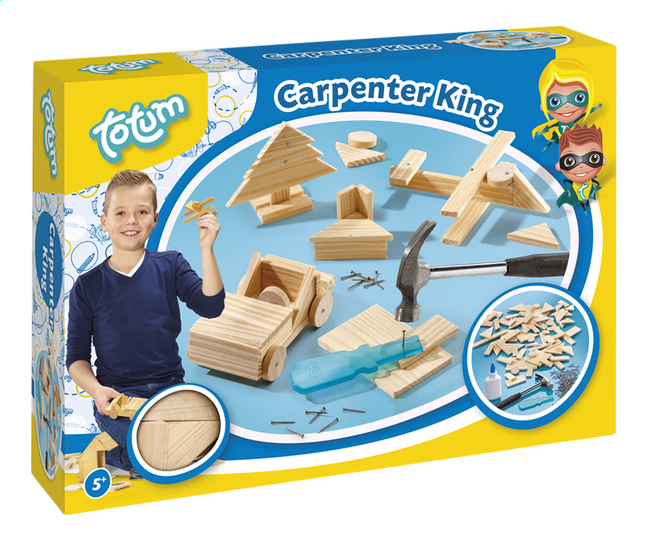 Image pour Totum set de menuiserie Carpenter King à partir de ColliShop