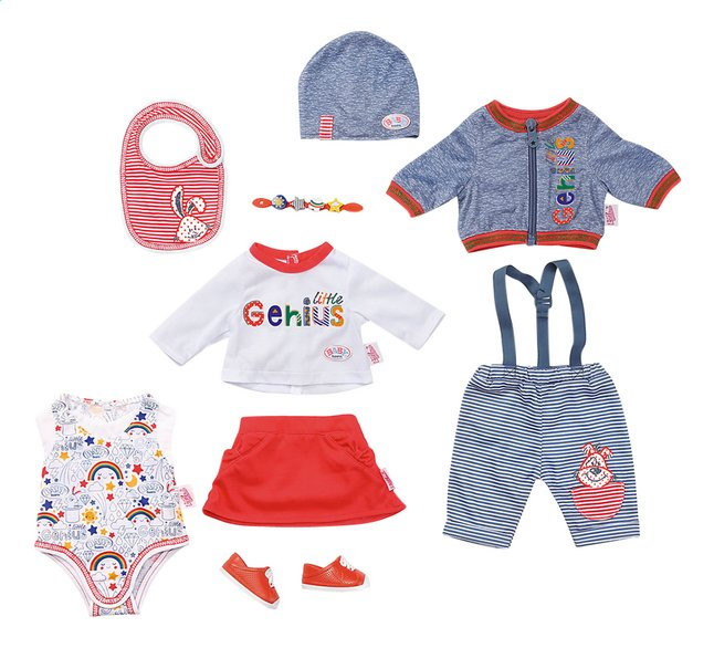 Afbeelding van BABY born kledijset Deluxe - Super mix-en-match from ColliShop