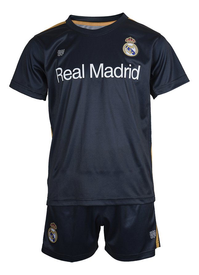 Image pour Tenue de football Real Madrid marine/or taille 116 à partir de ColliShop