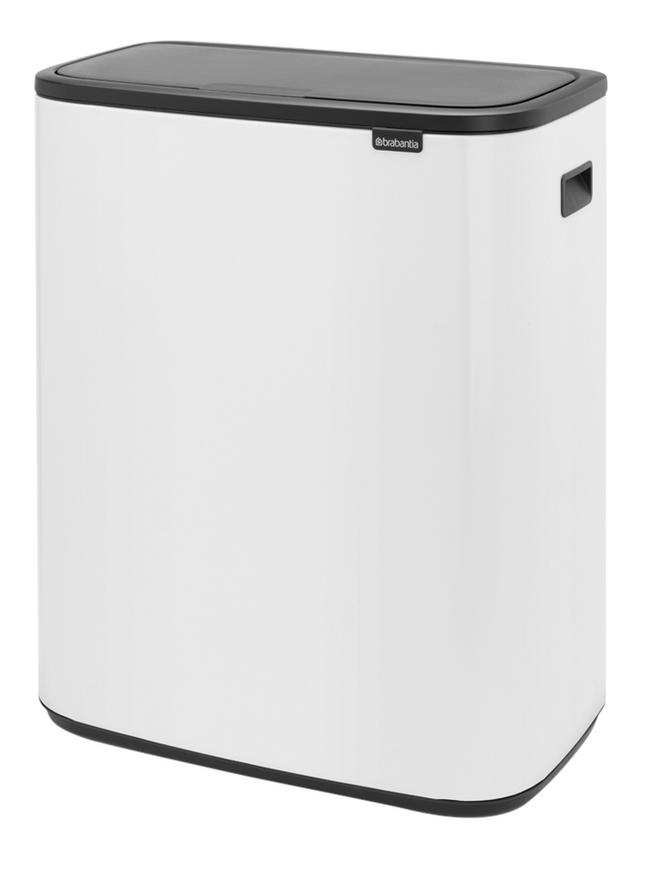 Image pour Brabantia Poubelle Touch Bin Bo white 2 x 30 l à partir de ColliShop
