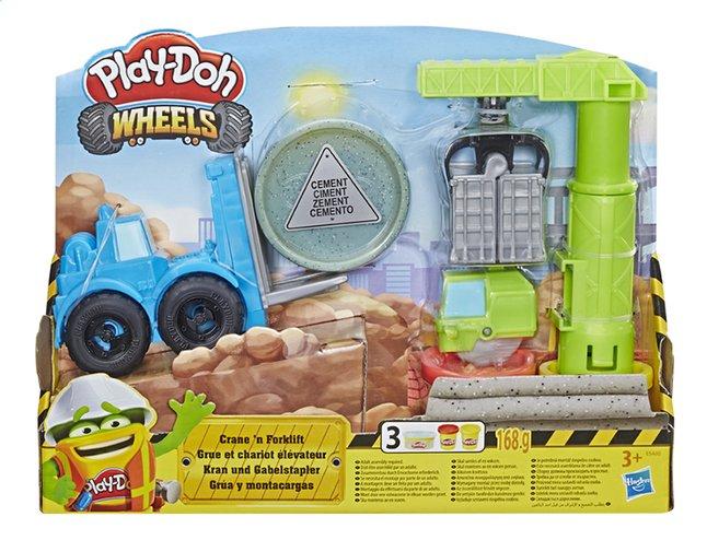 Image pour Play-Doh Wheels Grue et chariot élévateur à partir de ColliShop